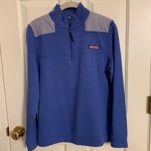 Vineyard Vines Blue/Stripe Shep Shirt, Size S
